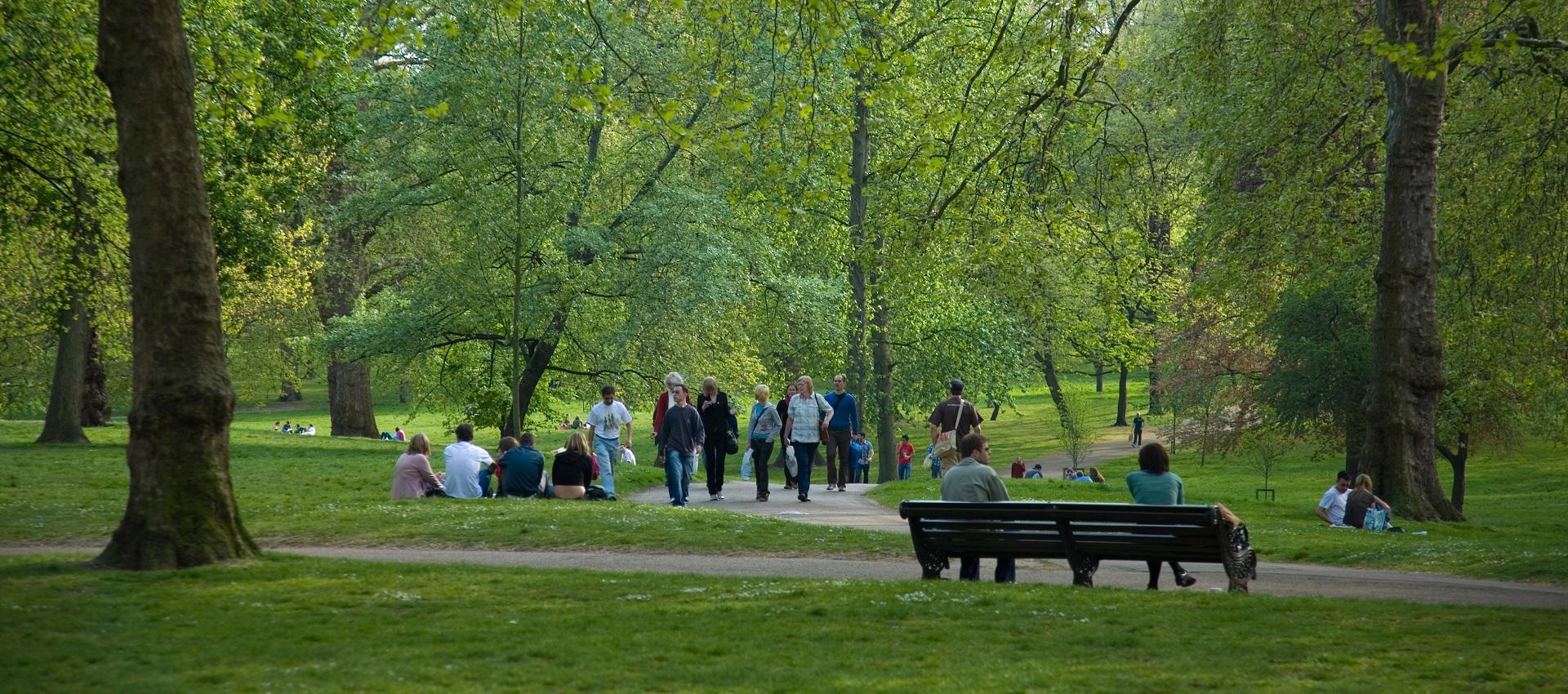 بهترین پارک های شهر لندن
